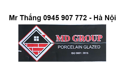 Logo Gạch MD Group