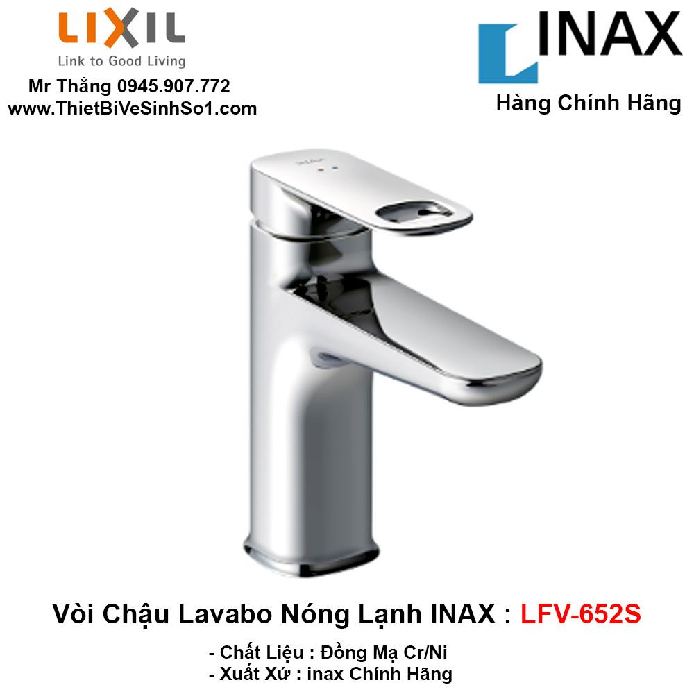 Vòi Chậu Lavabo inax LFV-652S