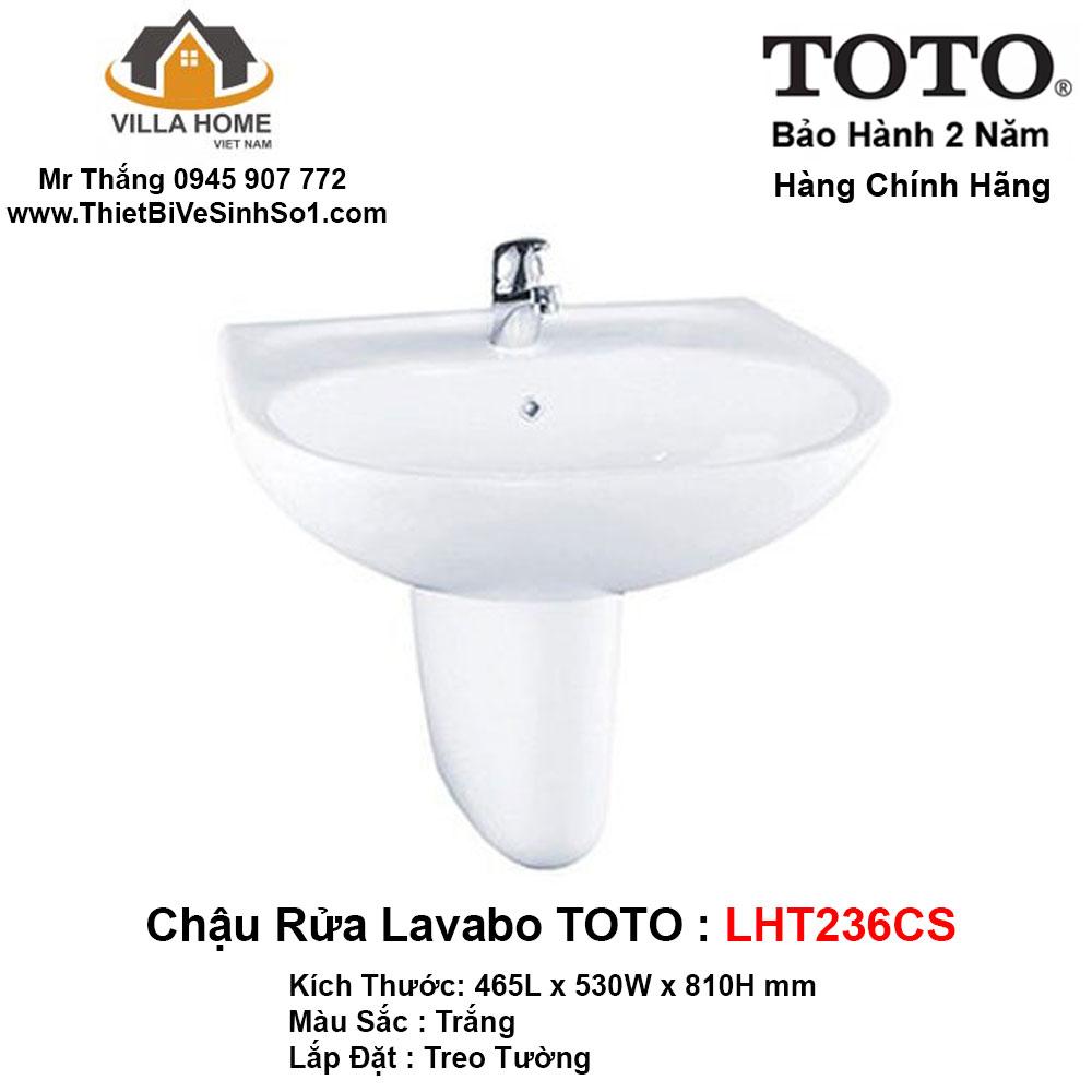 Chậu Lavabo TOTO LHT236CS