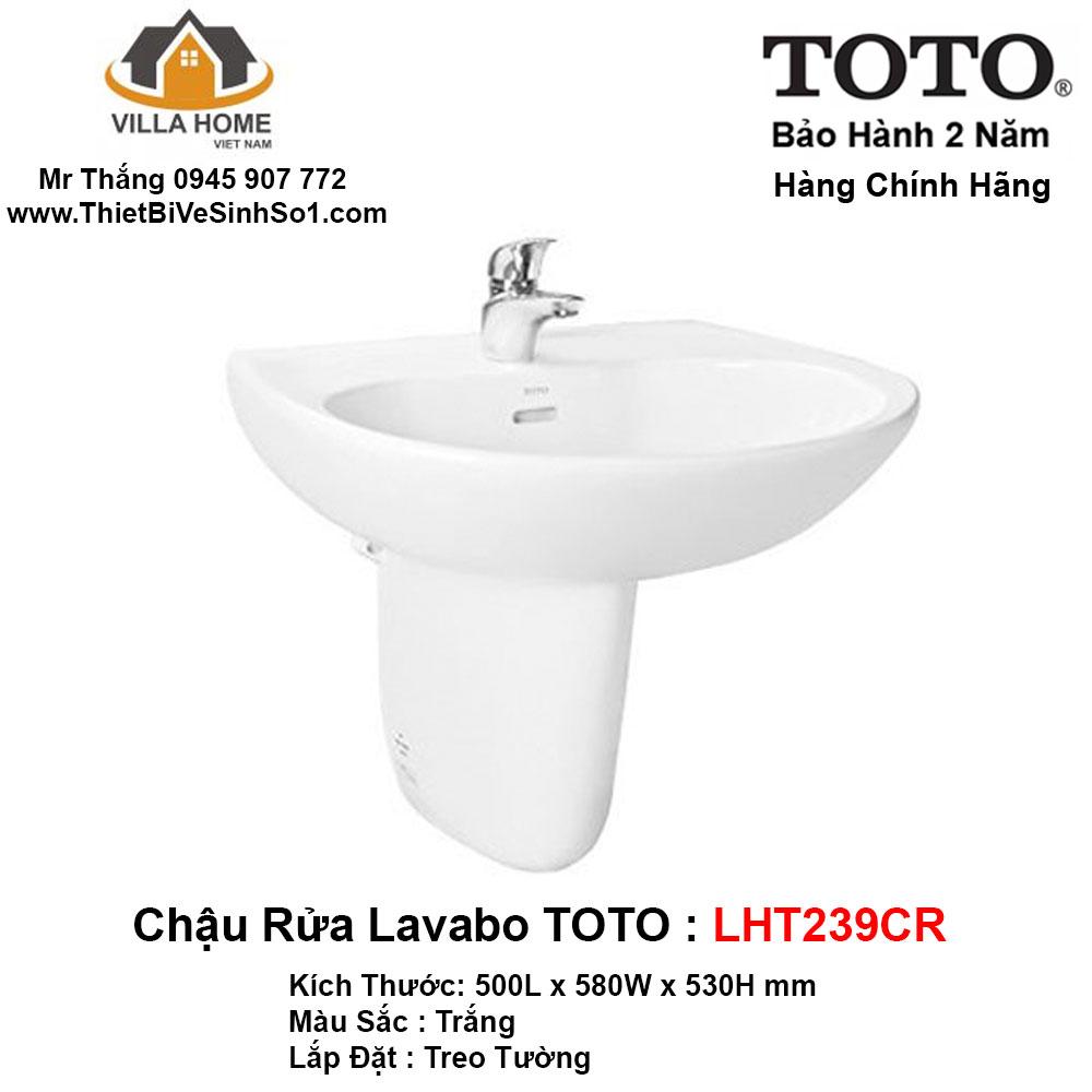 Chậu Lavabo TOTO LHT239CR