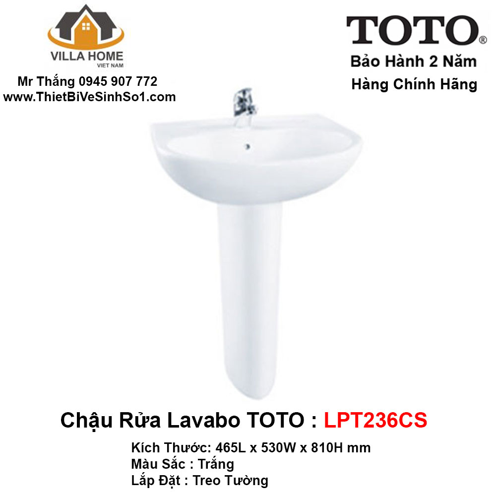 Chậu Lavabo TOTO LPT236CS