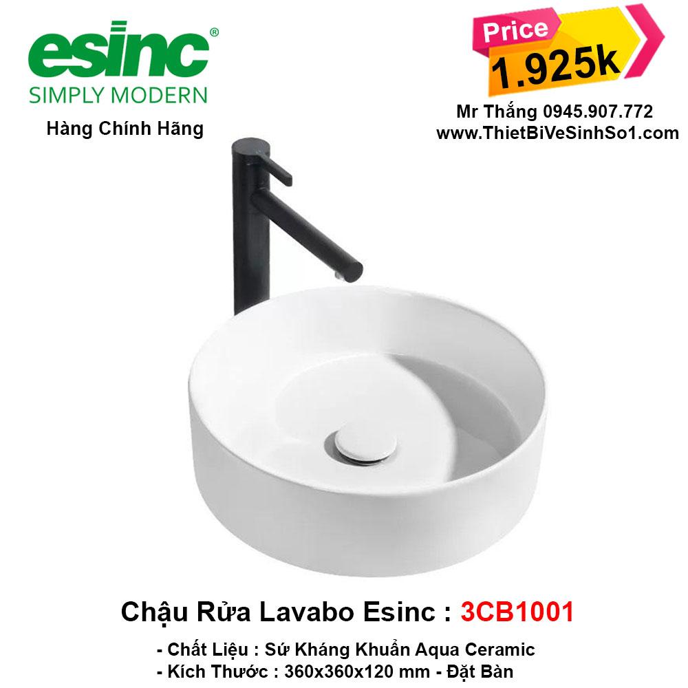 Chậu Lavabo Esinc 3CB1001