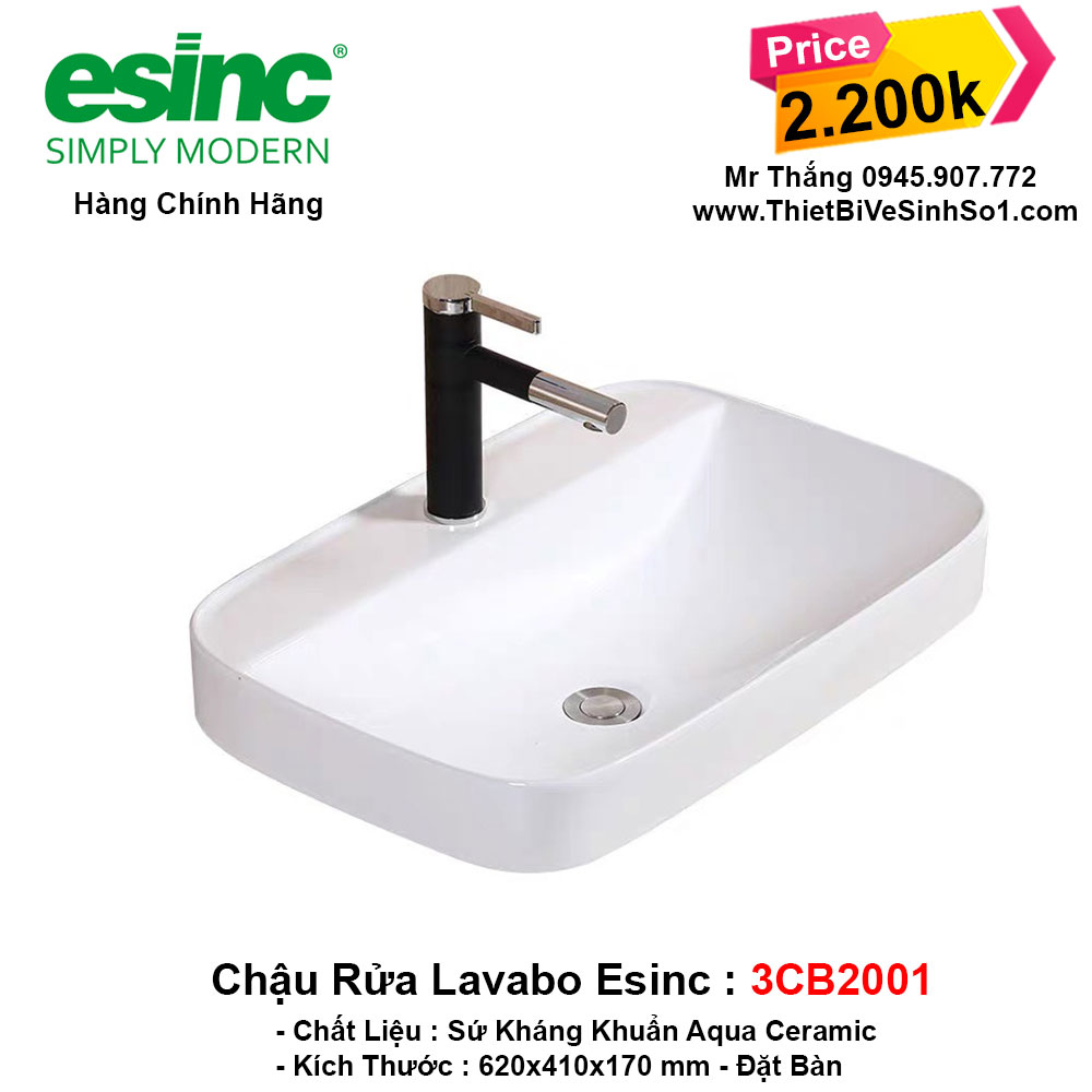 Chậu Lavabo Esinc 3CB2001