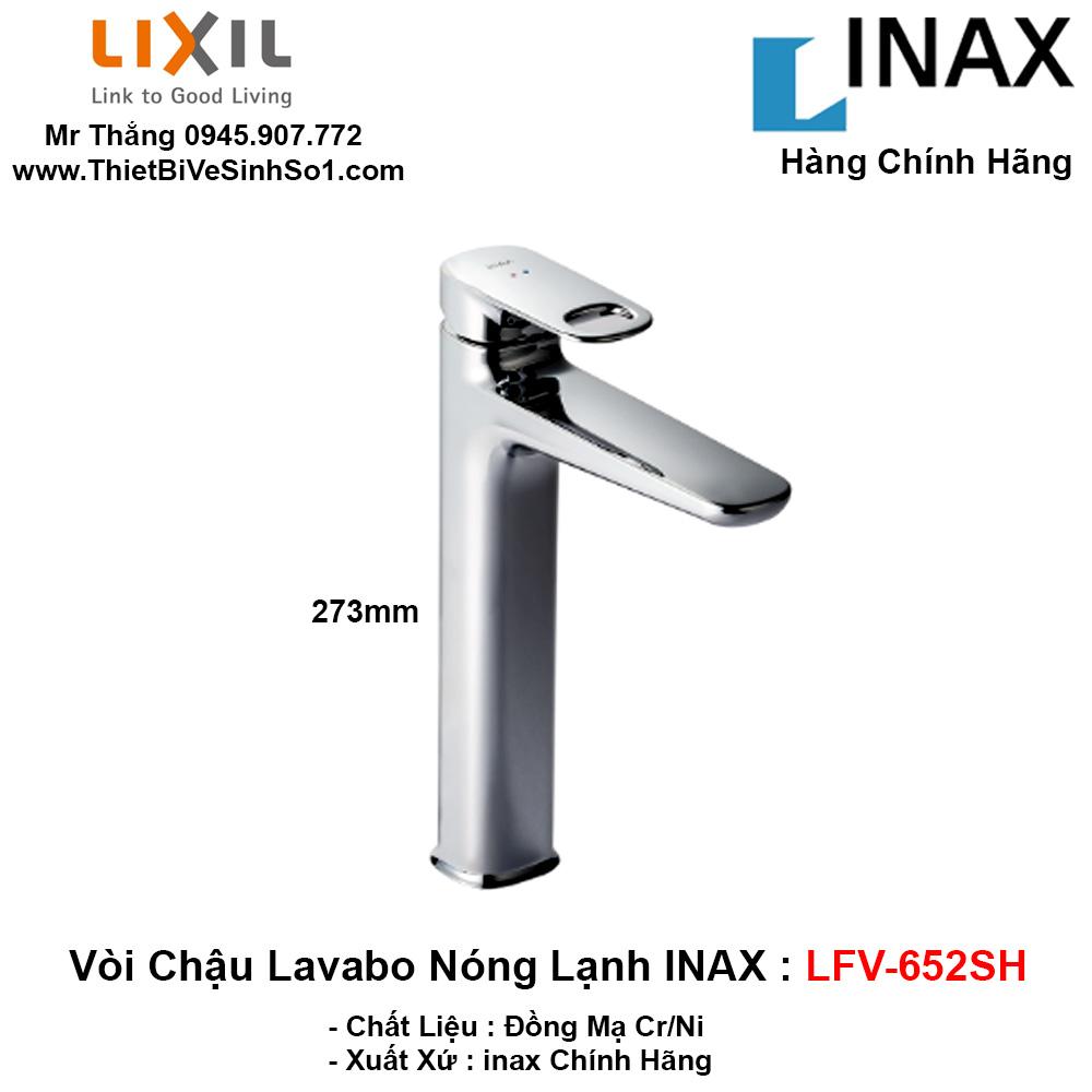 Vòi Chậu Lavabo inax LFV-652SH