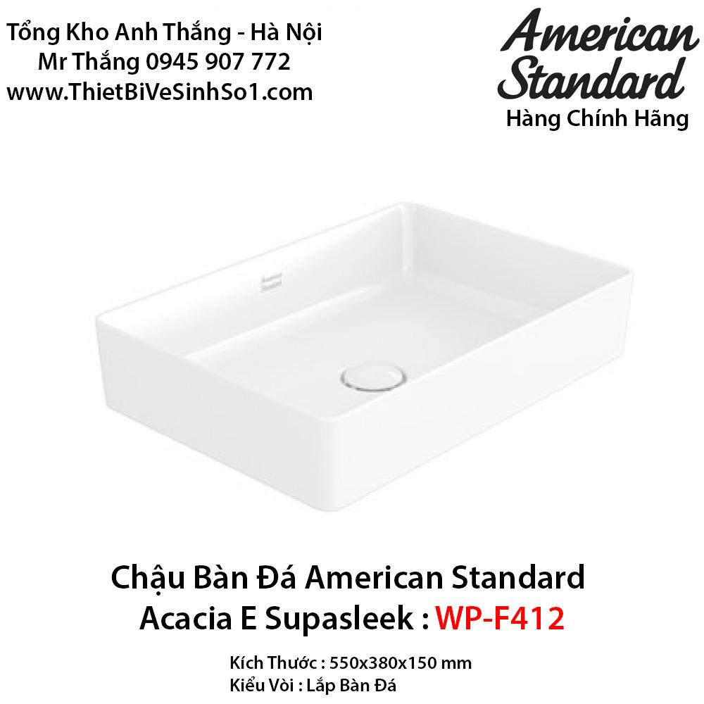 Chậu Rửa Lavabo Bàn Đá American Standard WP-F412