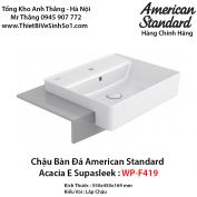 Chậu Rửa Lavabo Bàn Đá American Standard WP-F419