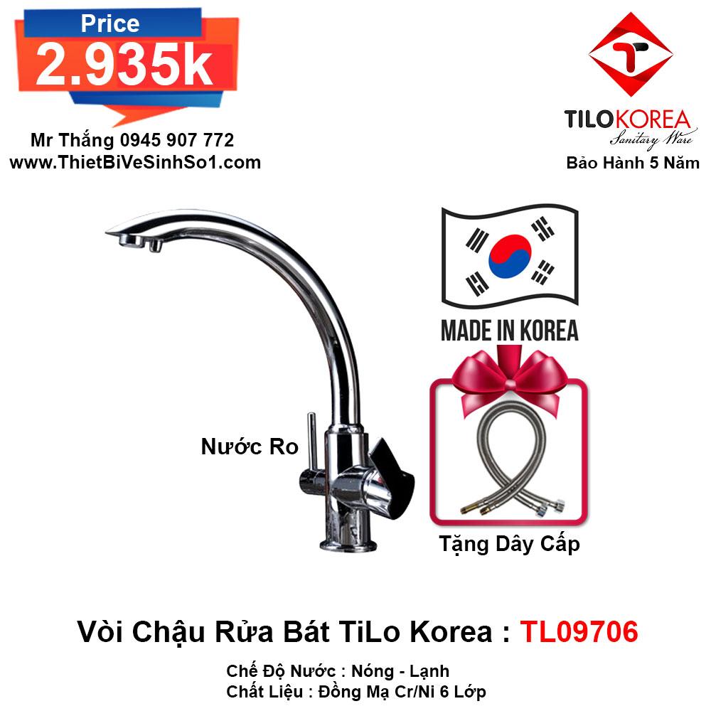 Vòi Rửa Bát TiLo Korea TL09706