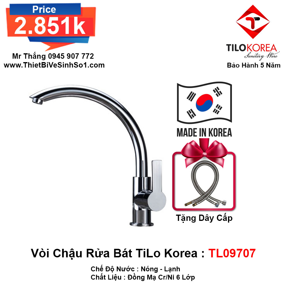 Vòi Rửa Bát TiLo Korea TL09707