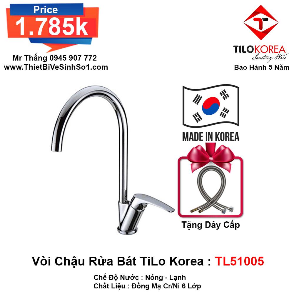 Vòi Rửa Bát TiLo Korea TL51005