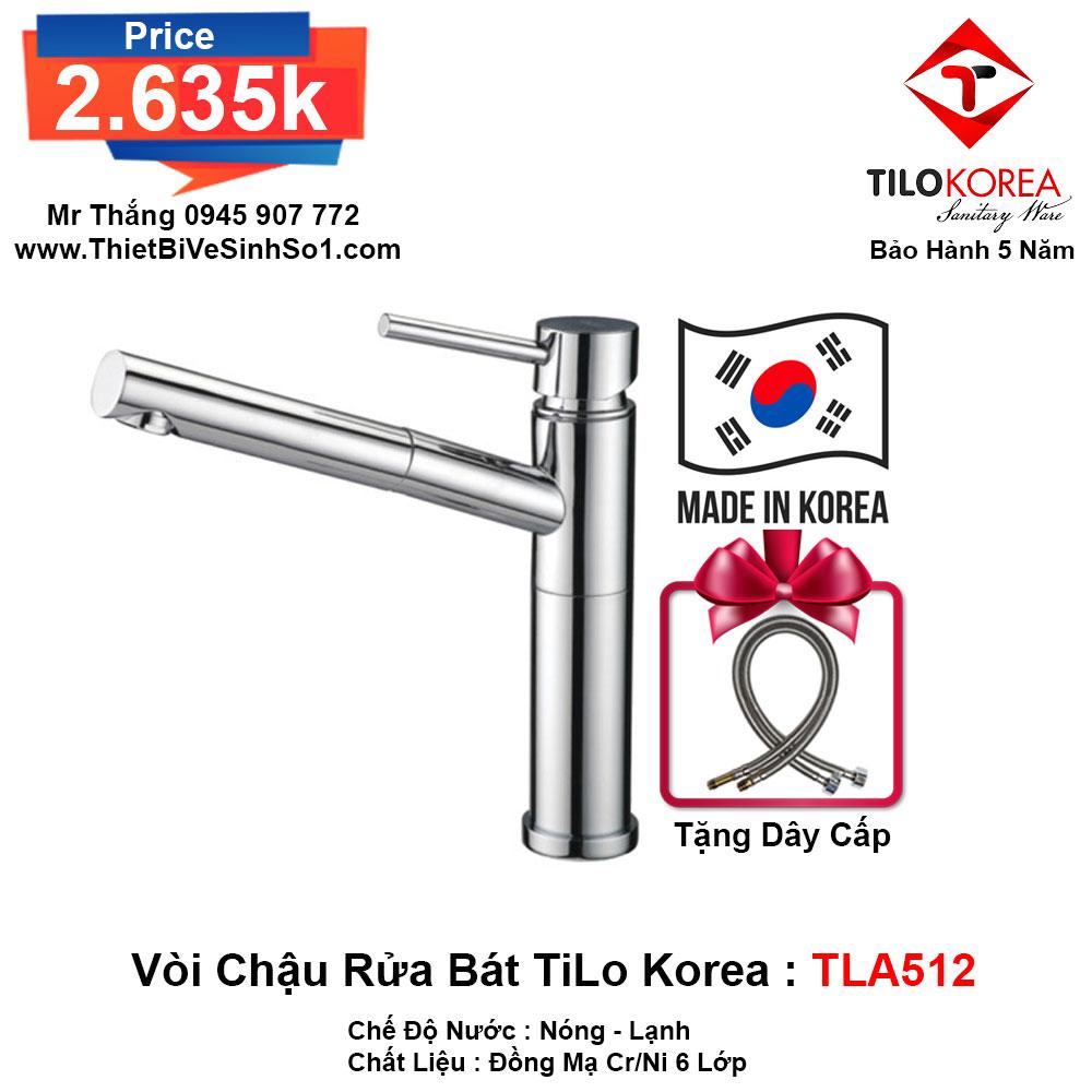 Vòi Rửa Bát TiLo Korea TLA512