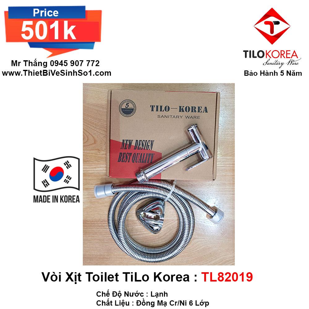 Vòi Xịt TiLo Korea TL82019