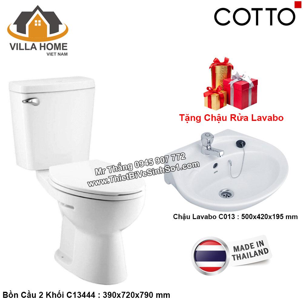 Combo Bồn Cầu COTTO C13444