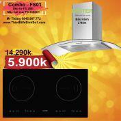 Combo FS01-Bếp Từ Faster FS 288i + Hút Mùi FS 3388C1